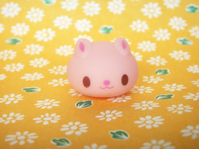 Photo1: Kawaii Cute Usadango Tiny Bunny Mascot Doll *Pink
