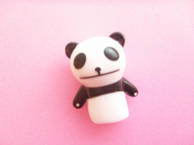 Photo1: Kawaii Cute Panda Pencil Toppers Decoration Novelty Japan B