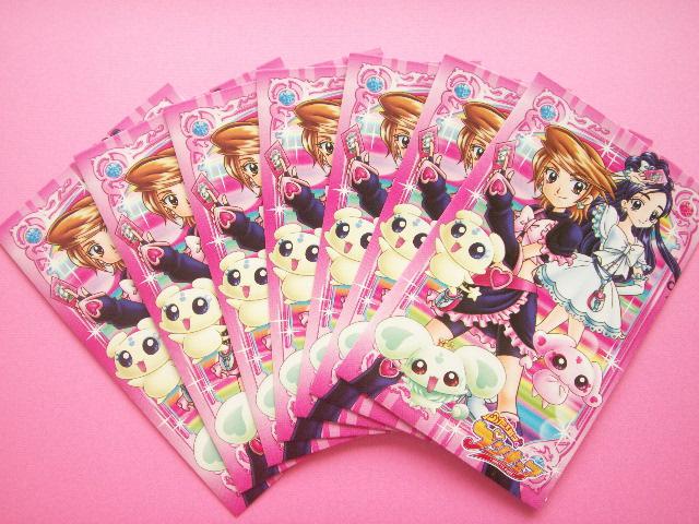 Photo1: 7 pcs Pretty Cure Mini Envelopes Set *C Japanese Anime