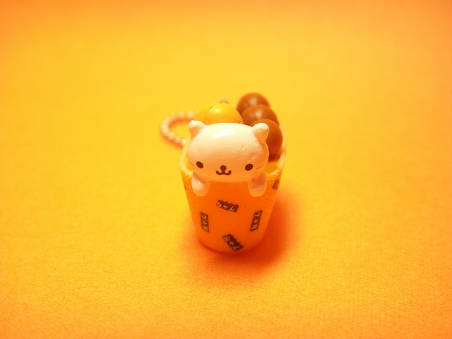 Photo1: Kawaii Nyan Nyan Nyanko Japanese Food Key Chain *Oden