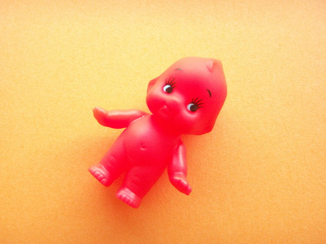 Photo1: Kawaii Cute Small Kewpie Soft Doll Collection *Red