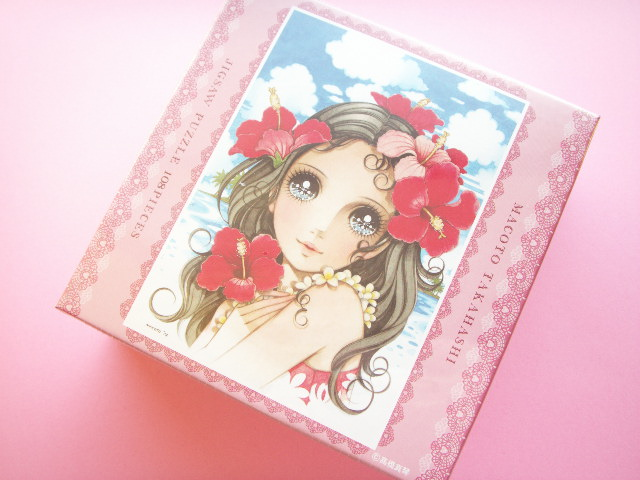 Photo1: Kawaii Cute Macoto Japanese Illustration Jigsaw Puzzle 108 Pieces Flower