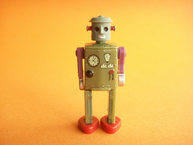 Photo1: Miniature Robot Figure Collection Japanese Toy